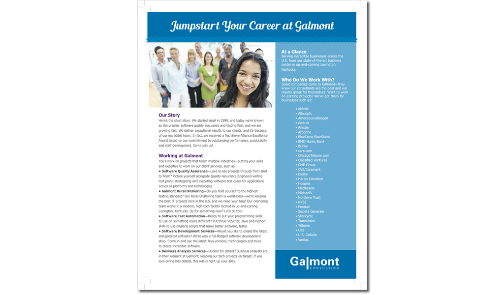 Galmont Consulting Sell Sheet