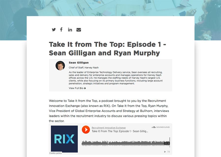 Bullhorn Podcast