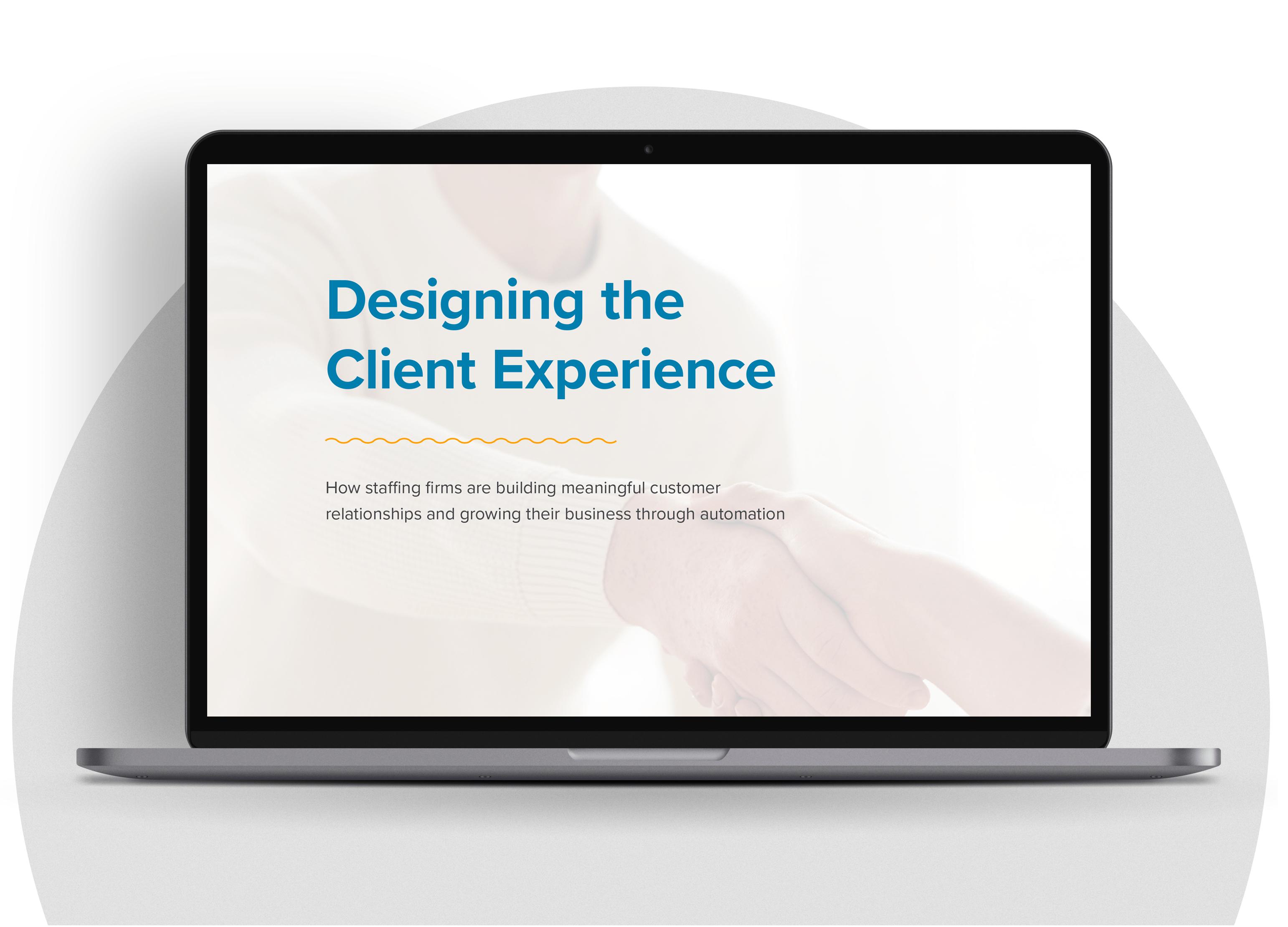 Designing Experience Laptop