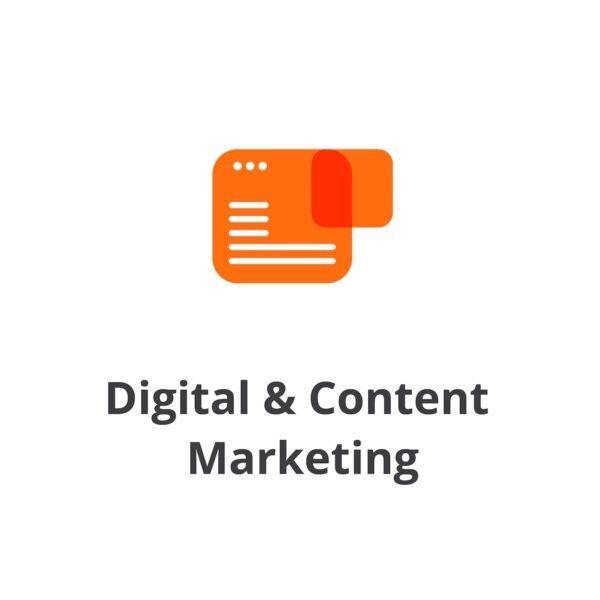 Digital & Content Marketing