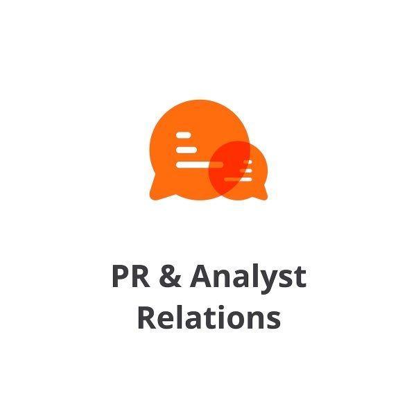 PR & Analyst Relations